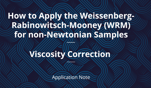 WRM Correction Application Note