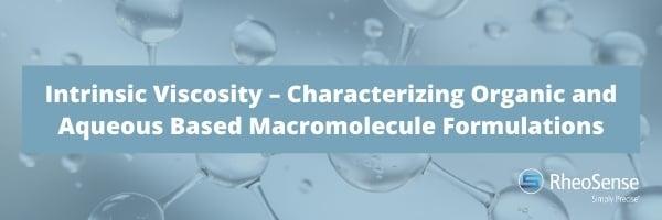 Intrinsic viscosity webinar - October Newsletter